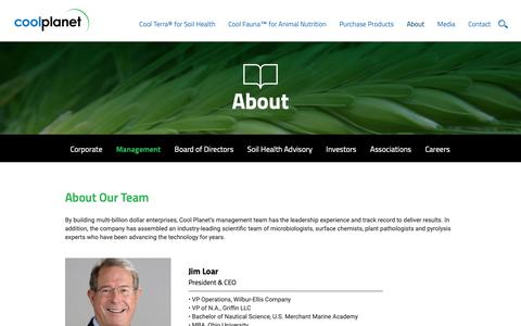 Screenshot of Team Page coolplanet.com - Cool Planet Management - Soil Management - captured Sept. 29, 2018