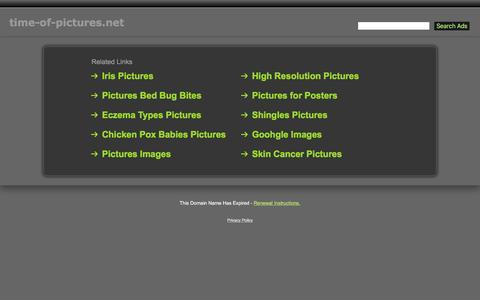 Screenshot of Home Page time-of-pictures.net - Time-Of-Pictures.net - captured May 26, 2016