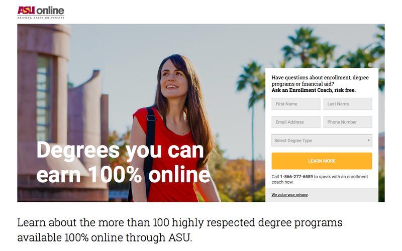 ASU Online Degree Programs | Arizona State University Online