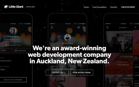 Little Giant - Web development Auckland, NZ | web developers