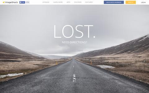 Screenshot of Terms Page imageshack.com - ImageShack - Business Plans - captured Nov. 25, 2015