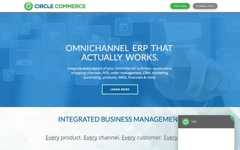 Omnichannel ERP Software and Services | Circle Commerce