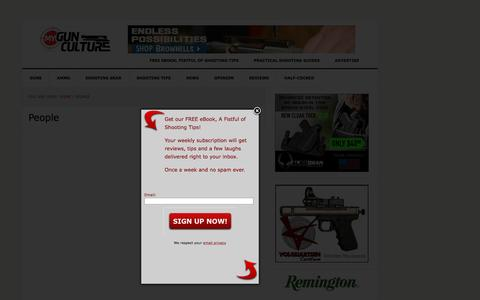 Screenshot of Team Page mygunculture.com - Shooting Industry People Interviews - captured Oct. 27, 2015