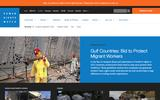Old Screenshot Human Rights Watch Home Page