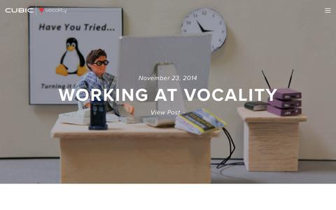 Screenshot of Jobs Page vocality.com - Careers — Vocality - captured June 18, 2017