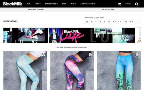 Luxe Leggings – Black Milk Clothing