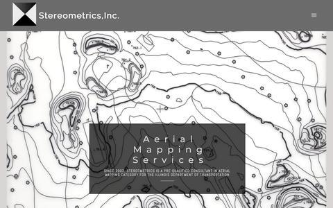 Screenshot of Home Page stereometrics.us - Stereometrics - captured Oct. 18, 2018