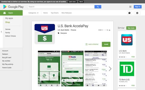 U.S. Bank AccelaPay - Android Apps on Google Play