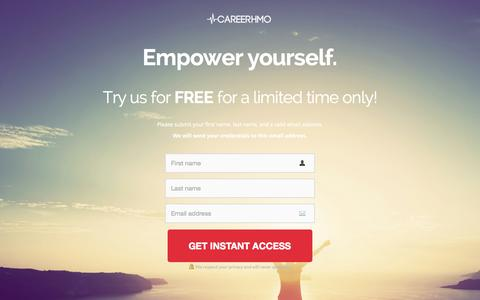 Screenshot of Trial Page careerhmo.com - 7-Day Free Trial | CareerHMO � CareerHMO - captured Oct. 27, 2015