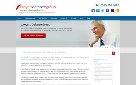 Home - Lawyers Defence Group