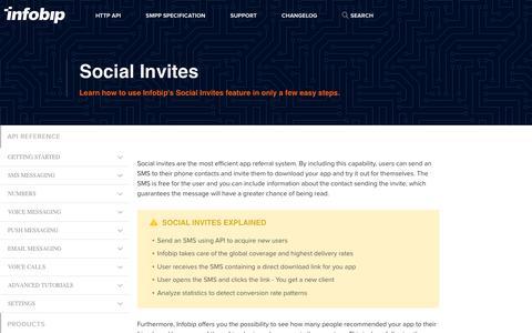 Social Invites