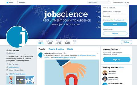 Jobscience (@Jobscience) | Twitter