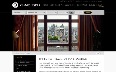 Luxury Hotels central London | Grange Hotels