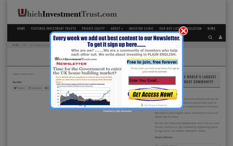 Screenshot of Signup Page whichinvestmenttrust.com - Sign-up - WhichInvestmentTrust.com - captured Aug. 13, 2015