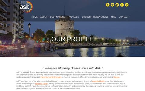 Screenshot of Team Page asit.gr - Greek travel agency & Greece tour operators | ASIT - captured Oct. 7, 2017