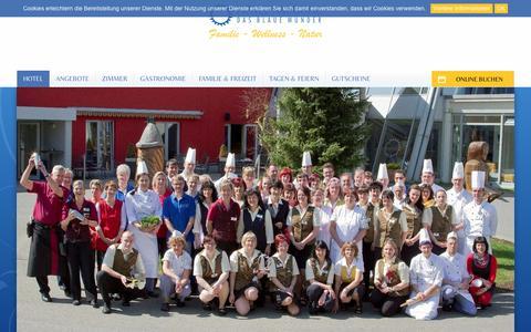 Screenshot of Team Page hotel-blaues-wunder.de - Unser Mitarbeiterteam Hotel Am Bühl - captured March 31, 2017