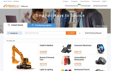 Manufacturers, Suppliers, Exporters;Importers from the largest online B2B marketplace-Alibaba.com and from other B2B, B2C markets.