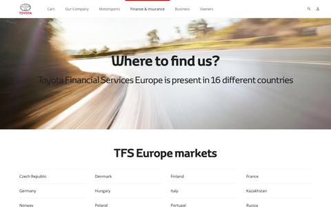 Where to find Toyota Financial Services?