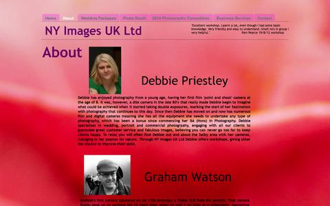 Screenshot of About Page nyimagesuk.co.uk - About - NY Images UK - captured Oct. 26, 2014