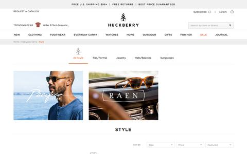 Shop Style Online | Huckberry