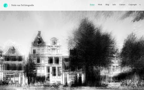 Screenshot of Home Page nielsvantol.nl - Niels van Tol - captured Sept. 19, 2015