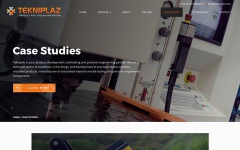 Screenshot of Case Studies Page tekniplaz.com - Tekniplaz Customer Case Studies - Projects in Focus - captured Nov. 6, 2017