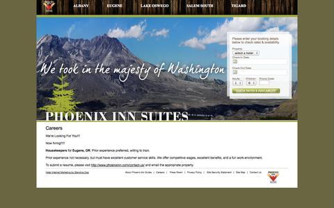 Screenshot of Jobs Page phoenixinn.com - Careers – Phoenix Inn - captured Oct. 2, 2014