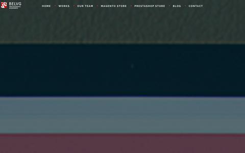 Screenshot of Home Page belvg.com - BelVG   еCommerce Development Company. Magento and Prestashop Development for Successful Business - captured Dec. 31, 2015