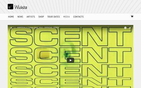 Screenshot of Press Page wichita-recordings.com - Media - Wichita Recordings - captured March 25, 2018
