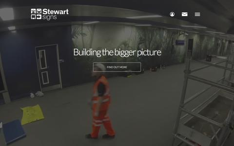 Screenshot of Press Page stewartsigns.co.uk - Media - Stewart Signs - captured Dec. 3, 2016