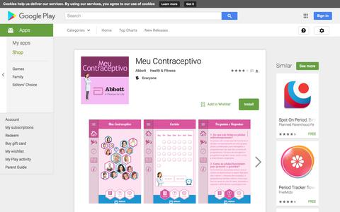 Meu Contraceptivo - Android Apps on Google Play