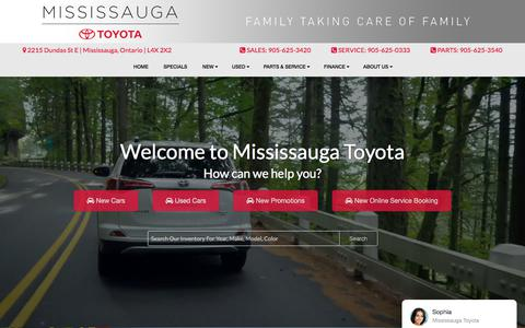 New & Used Toyota Dealer in Mississauga