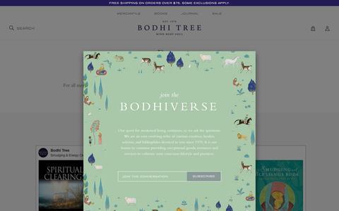 Screenshot of Press Page bodhitree.com - Bodhi Tree - captured Aug. 3, 2018