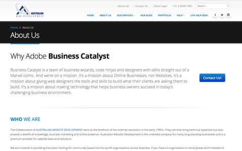 Australian Website Development | About Us