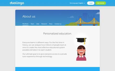About us - Duolingo