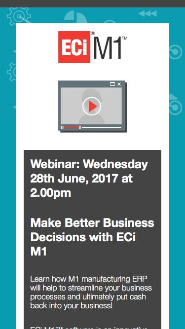 Webinar: Wednesday 28th June, 2017 at 2.00pm