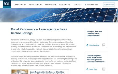 Energy | SC&H Group