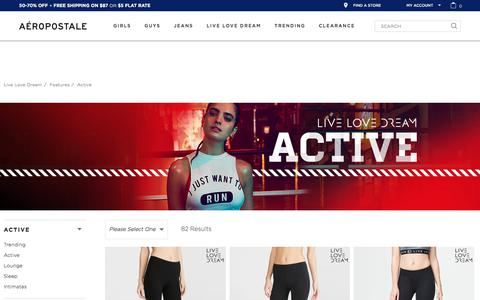 Cute Workout Clothes - Live Love Dream | Aeropostale