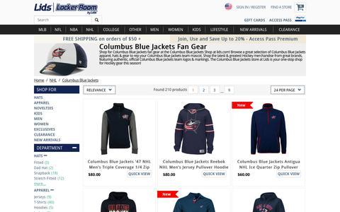 Columbus Blue Jackets Fan Gear | Columbus Blue Jackets Store | lids.com