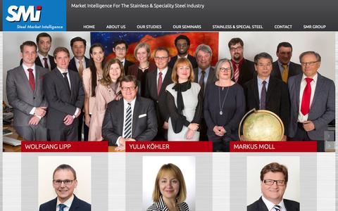 Screenshot of Team Page steel-intelligence.com - Team - SMI - Steel Market Intelligence - captured Oct. 1, 2018