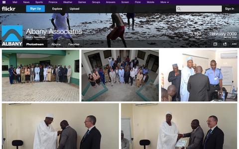 Screenshot of Flickr Page flickr.com - Flickr: Albany Associates' Photostream - captured Oct. 23, 2014