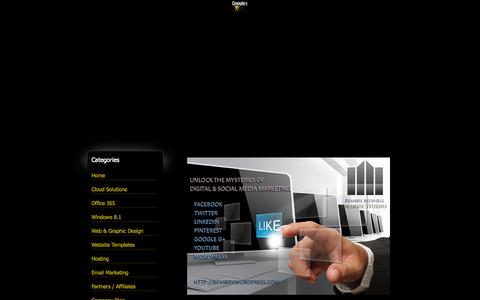 Screenshot of Home Page bembrybusiness.com - Bembry Business Design Studio - How to build, set-up and run an online business utilizing affordable, cutting edge technology. - captured Oct. 5, 2014