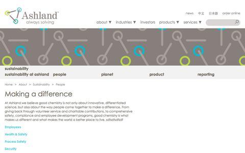 Screenshot of Team Page ashland.com - Ashland | People - captured June 20, 2018