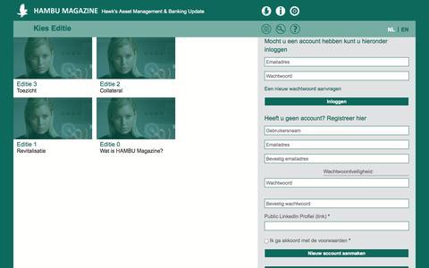 Screenshot of Home Page hambu.net - Home | Hambu Magazine - captured Sept. 26, 2014