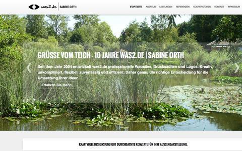 Screenshot of Home Page was2.de - zur Startseite - www.was2.de - captured June 7, 2016
