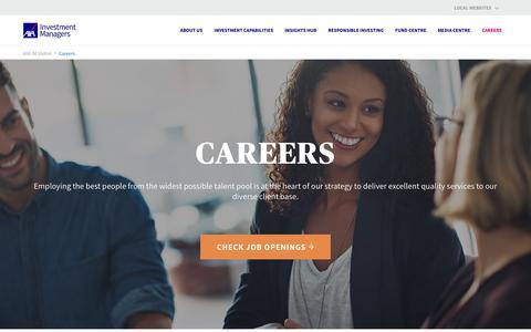 Screenshot of Jobs Page axa-im.com - Careers - AXA IM Global - captured Sept. 29, 2018