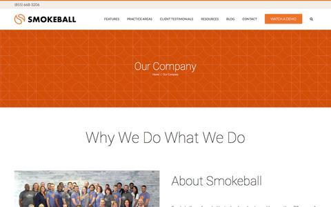 Our Company - Smokeball