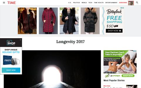 Longevity 2017 | Time