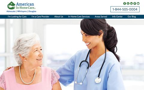American In-Home Care LLC: Home Health Care Florida