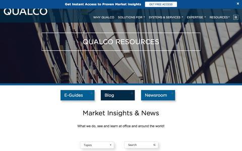 Screenshot of Blog qualco.eu - QUALCO Blog - captured July 19, 2018